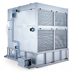 Enclosed cooling tower
