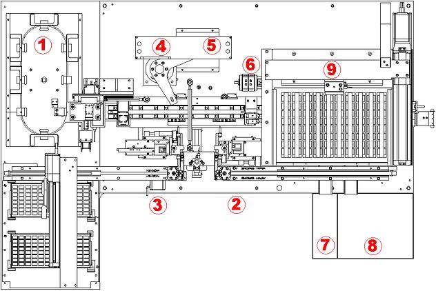KS405 JEWEL CASE ASSEMBLY MACHINE