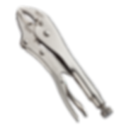 """Curved Jaw with Wire Cutter - 5"""" 7"""" 10"""" ATNW"""