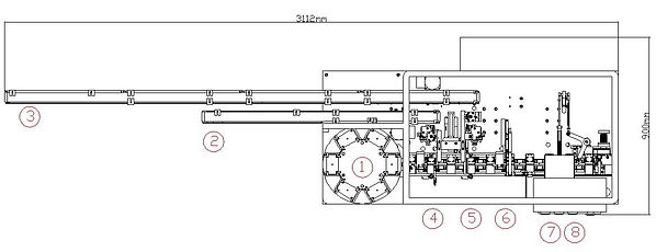 KS401 JEWEL CASE ASSEMBLY MACHINE