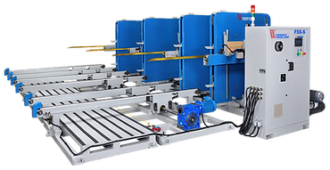FSS series - Finger joint out-feed stacker