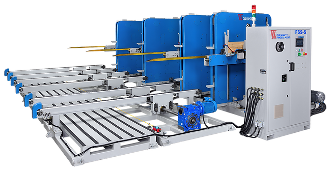 FSS-series finger joint out-feed stacker