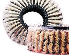 Sand cloth brush