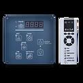 觸控型面板搭配遙控器 訊息可雙向回饋