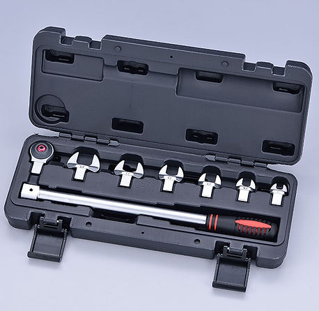 JSR-31 8pcs Head Interchangeable Wrench Set