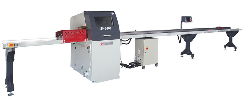 S-600 AUTOMATIC PROGRAMMABLE CUT-OFF SAW