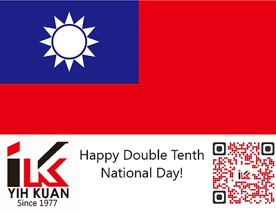 2019 Happy Double Tenth National Day