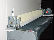 Wide belt sander for calibrating