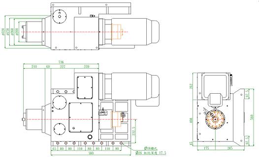 IK-H4500-A HorizontalSpeed Geared Head