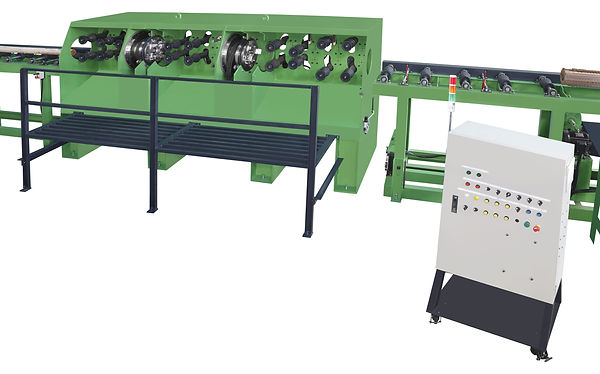 AL-7485  AUTO. LINE PEELING AND LATHING MACHINE