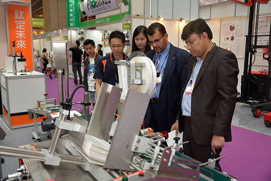 2016 Taipei International Packing Industry Show – T&G booth photos were picked AGAIN onto the website by the official