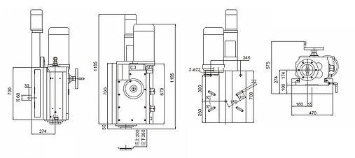 IK-916-LV Precision Milling Type-Left Vertical Milling Head
