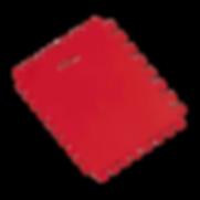 Spreader (Notched Plastic Scraper) -T08014