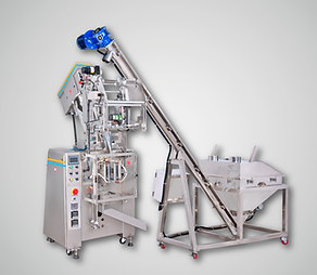 GJ-103AF   Form-Fill-4-Side Seal Packaging Machine (Screw conveyor not included)