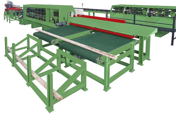 AL-7491 全自動原木生產線防風木機材加工設備