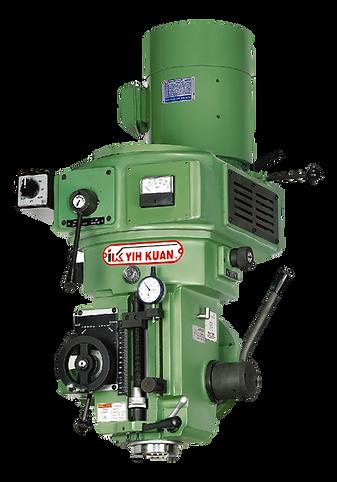 IK-6FS2-2# 砲塔銑頭 /變頻 -油循環-後鎖