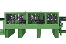 AL-7483 Auto. line peeling and lathing machine