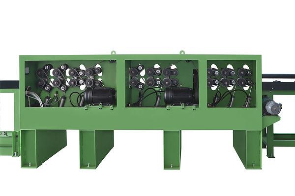AL-7483 全自動原木生產線防風木機材加工設備