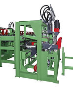 ​AL-7516 Auto. line peeling and lathing machine