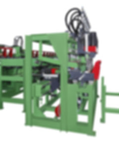 AL-7516  AUTO. LINE PEELING AND LATHING MACHINE