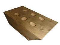 自動退料三角連接木鑽孔 專用機( 氣壓式 )