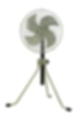 """17"""" Vertical Type Industrial Pneumatic Fan"""