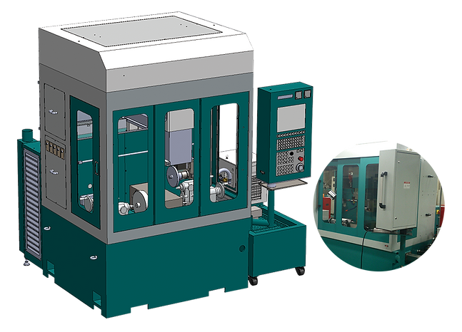 DIAMOND WHEEL ELECTRICAL DISCHARGE MACHINING MACHINE