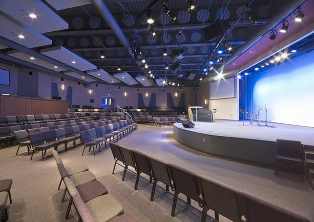 Rock Springs Baptist Church - Auditorium