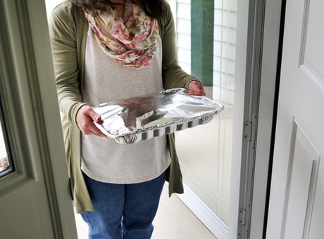 When Grief Comes Knocking at A Neighbor's Door, Do I Bring over a Casserole?