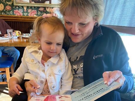 A Granddaughter, Manna, Prayer and Me