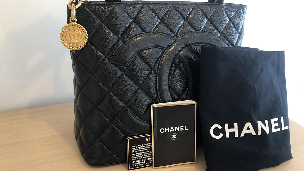 Chanel Medallion Tote