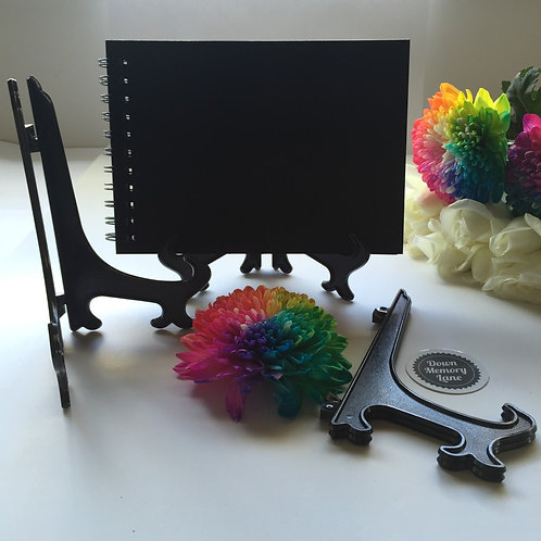 Black Display Stand - for A5 items