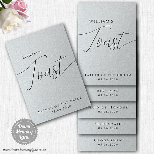 Toast Book - Classic Silver