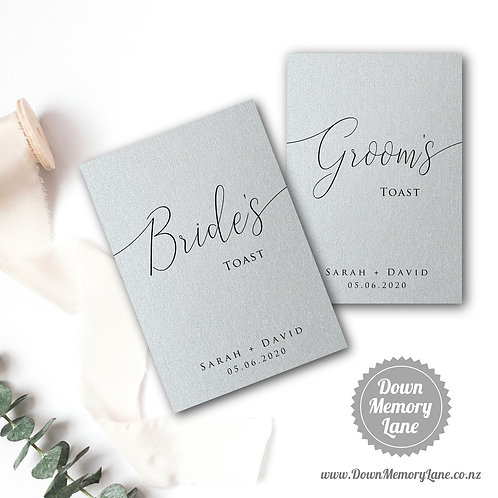 Toast Book - Classic Silver - Style 2