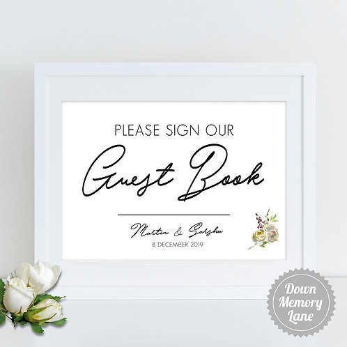 Please Sign - Elegant Writing
