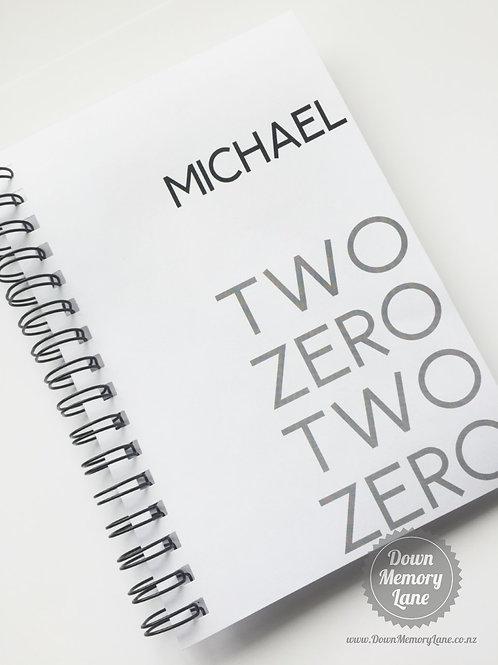 Diary - Two Zero on White