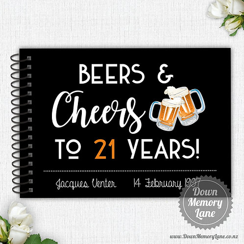 A4 Size - Beers & Cheers