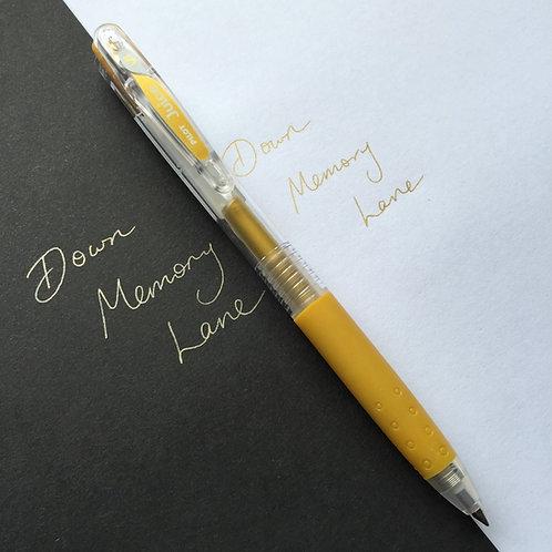 Pilot Gold Retractable Clip Pen