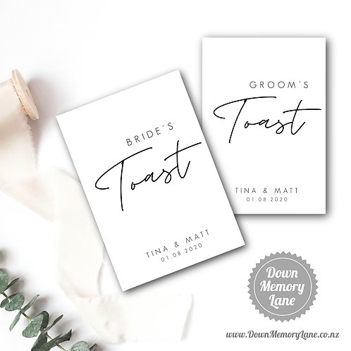 Toast Book - Contemporary White - Style 1