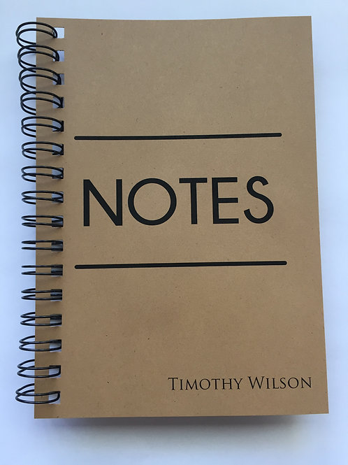A4 Size - Notebook / Visual Diary - Big Notes