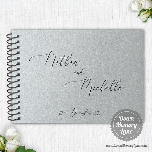 A4 Size - Classic Names on Silver