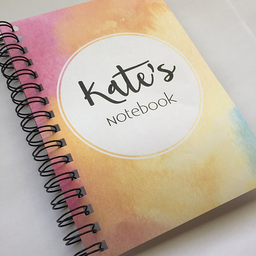 A5 Size - Notebook / Visual Diary - Watercolours