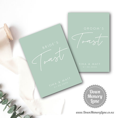 Toast Book - Contemporary Olive - Style 1