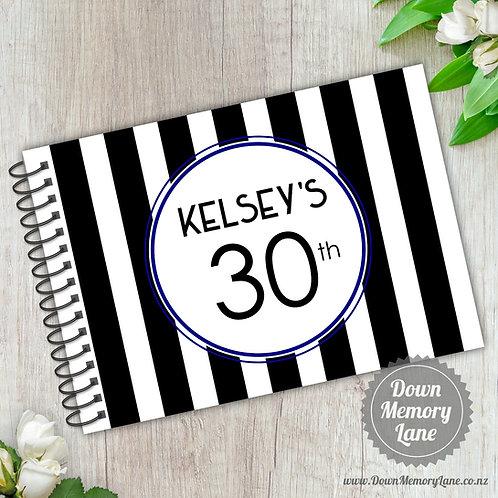 A5 Size - Birthday Bold Stripes