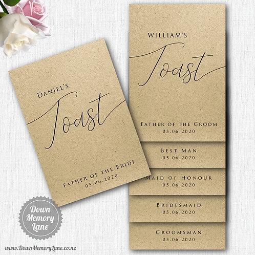 Toast Book - Classic Kraft