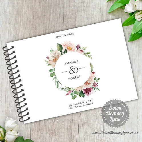 A5 Size - Pastel Rose