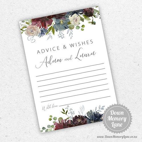 Advice Cards - Wild Bouquet