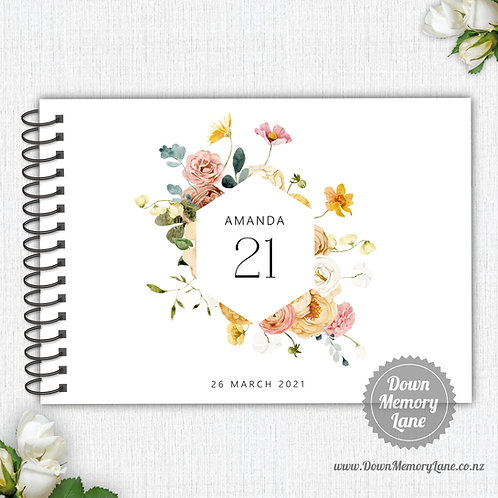 A4 Size - Birthday Spring Meadow