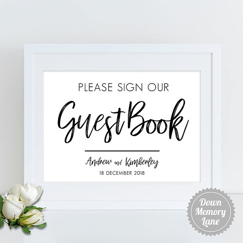 Please Sign - Funky Names