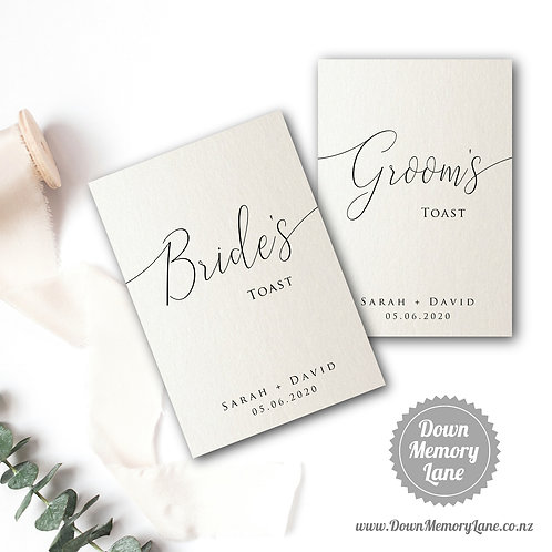 Toast Book - Classic Ivory Shimmer - Style 2